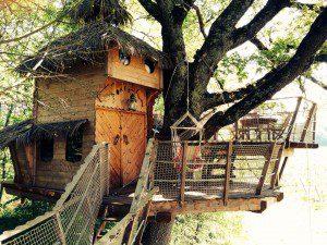 cabane familiale perchée Gironde