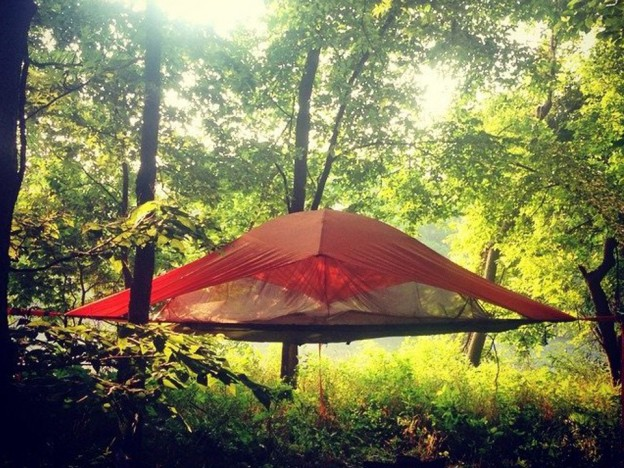 Tente suspendue Merlot